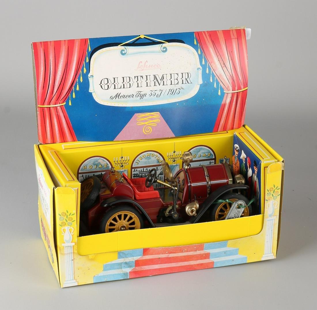 Old German tin Schuco toy oldtimer. Mercer, type 35J /