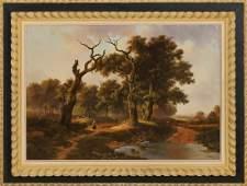 J. van Velzen.late 20th century.Romantic