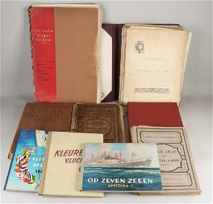 Lot of antiquarian books. (1) Amsterdam in the 17th