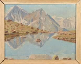 Paul Auguste Perrelet, 1936. 1870 - 1965. Swiss