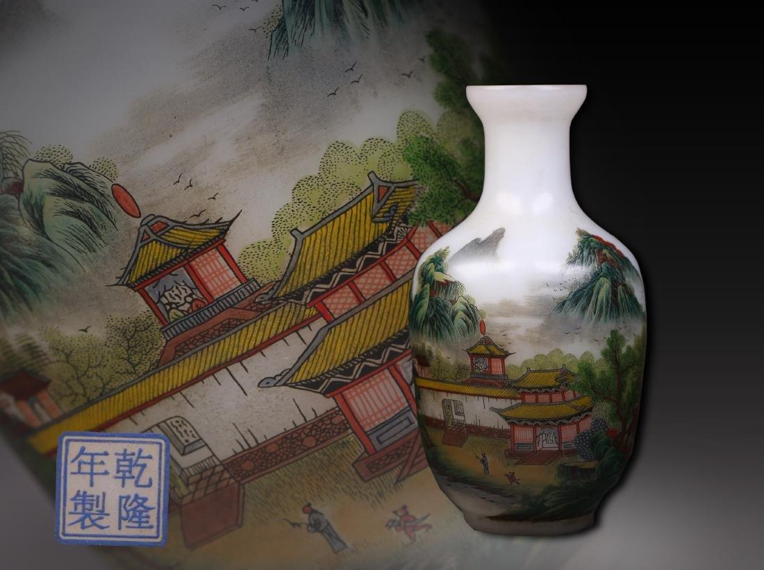 Dynasty landscape painting on vase qing dynasty landscape painting on vase reviewsmspy