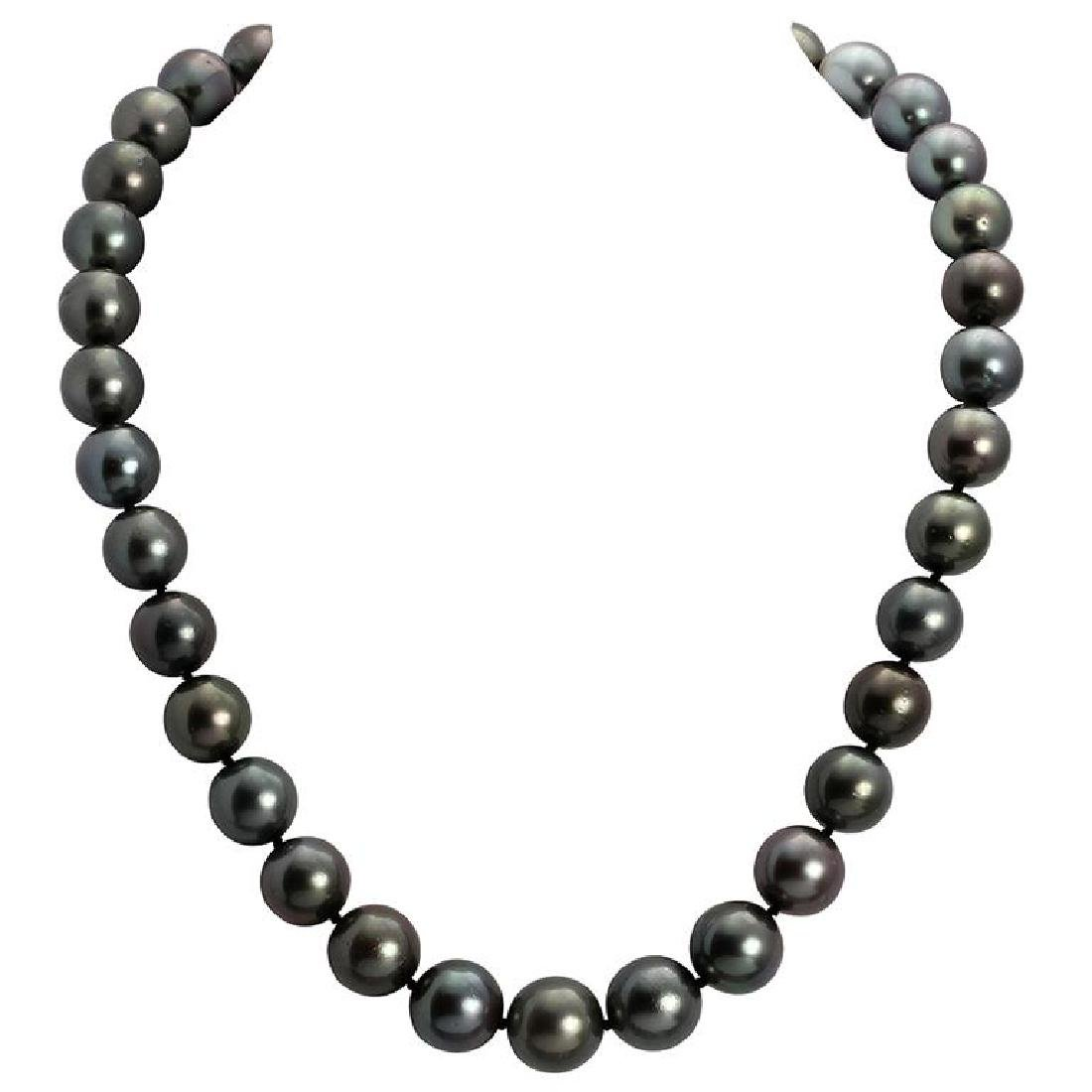 11-13mm Natural South Sea Pearl Necklace