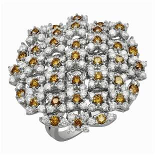 14k White Gold 3.00ct Diamond Ring