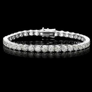18K Gold 13.06ct Diamond Bracelet