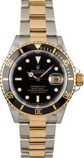Rolex Submariner Two Tone Divers WristWatch