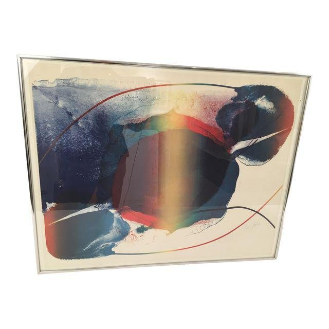 Paul Jenkins Signed Lithograph