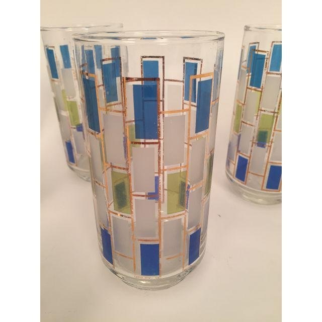 Mid-Century Drinking Glasses - Set of 6 - 3