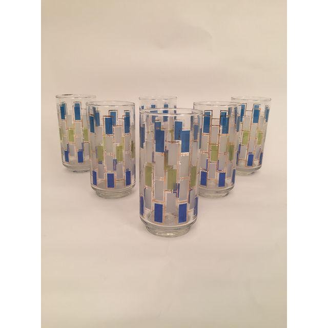 Mid-Century Drinking Glasses - Set of 6 - 5