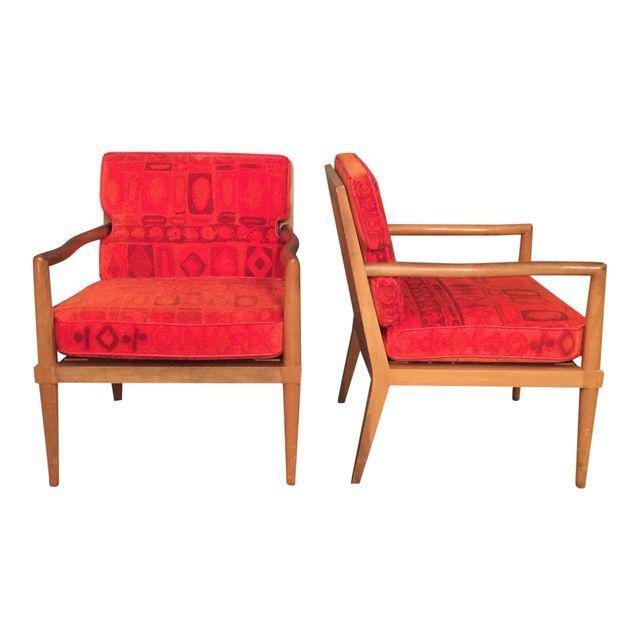 Mid-Century Finn Jhul Arm Chairs - a Pair