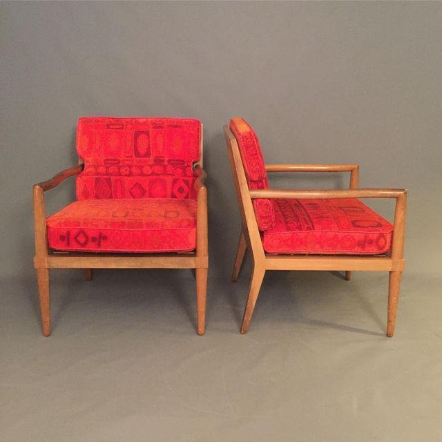 Mid-Century Finn Jhul Arm Chairs - a Pair - 2