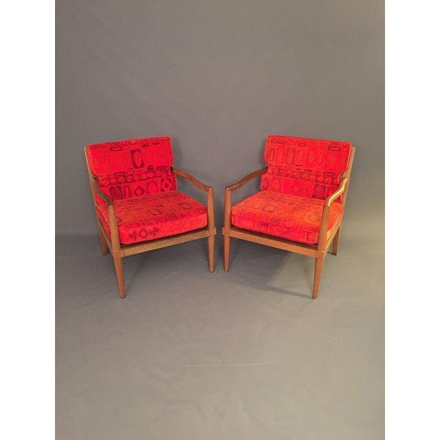 Mid-Century Finn Jhul Arm Chairs - a Pair - 3