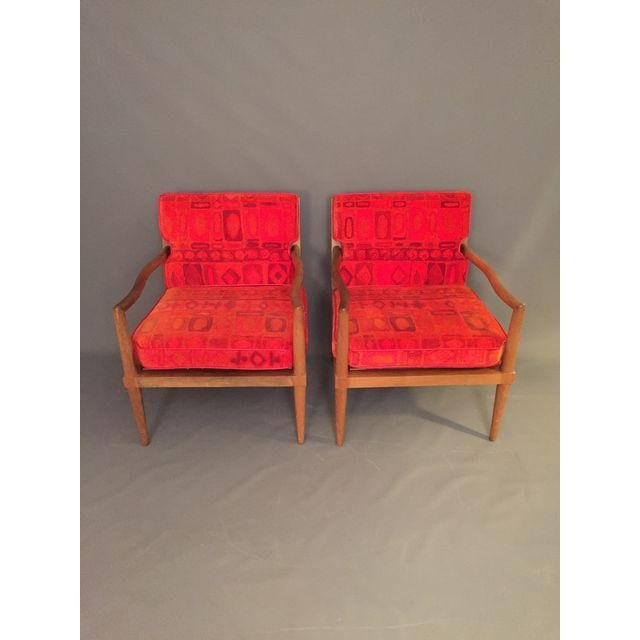 Mid-Century Finn Jhul Arm Chairs - a Pair - 5