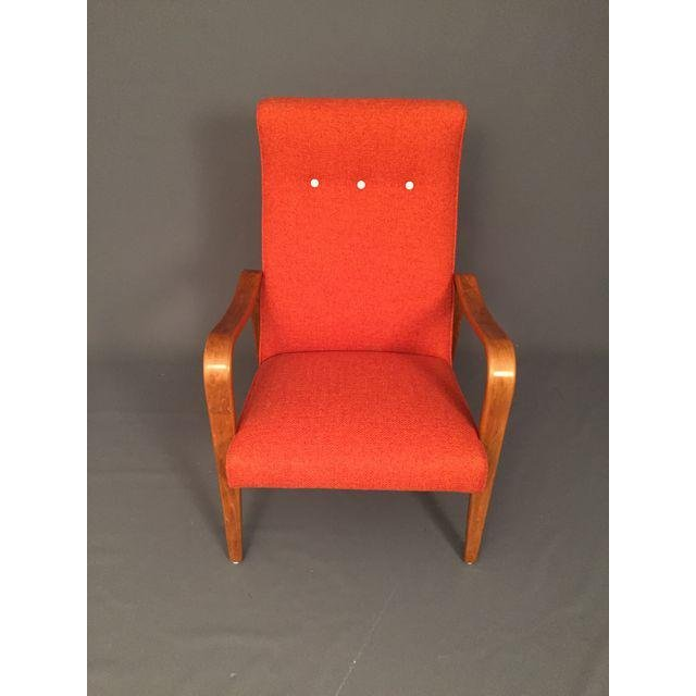 Mid-Century RESTORED Thonet Bentwood Lounge Chairs Pair - 4