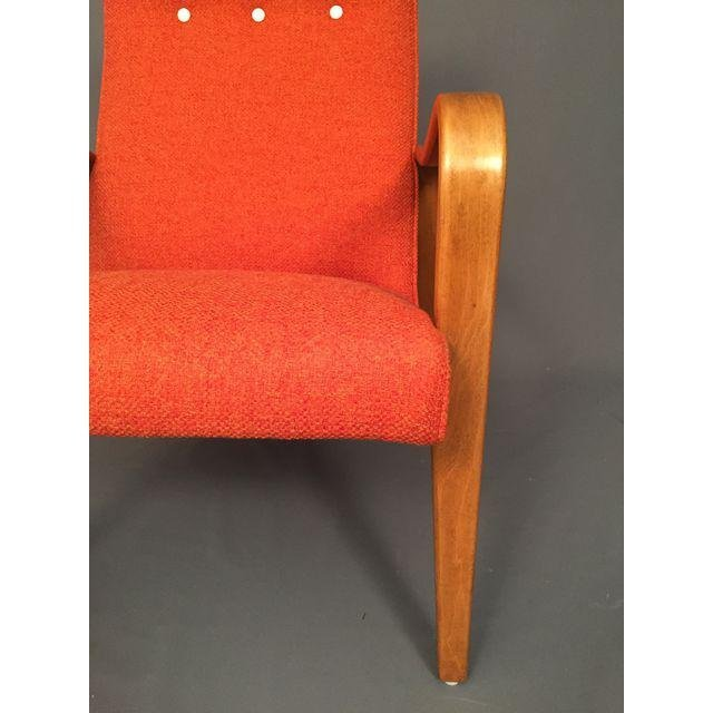 Mid-Century RESTORED Thonet Bentwood Lounge Chairs Pair - 5