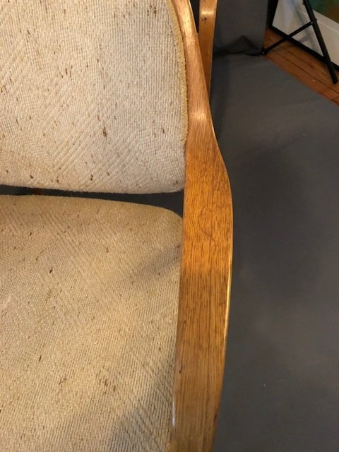 Mid-Century set of 4 Knolls chairs - 6