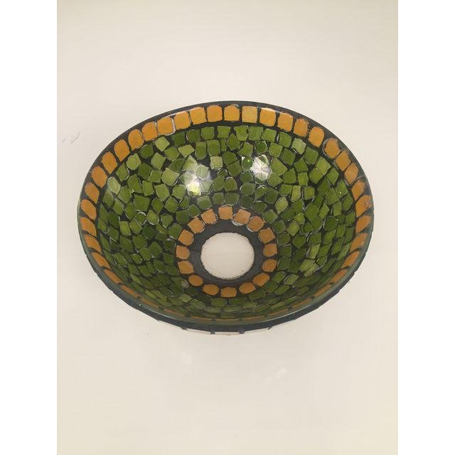 Mid-Century Mosaic Glass Bowl - 3