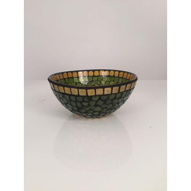 Mid-Century Mosaic Glass Bowl - 5
