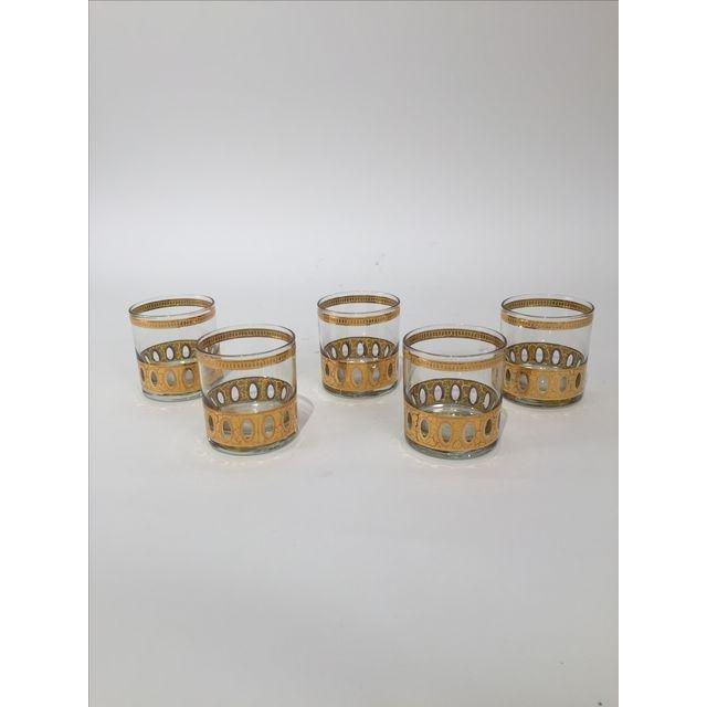 Vintage Culver LTD Celeste Glasses - S/4