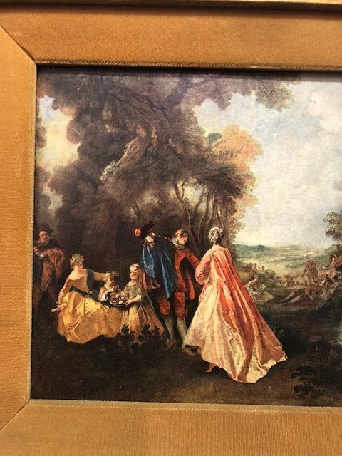 French framed 17th Century Landscape - 2