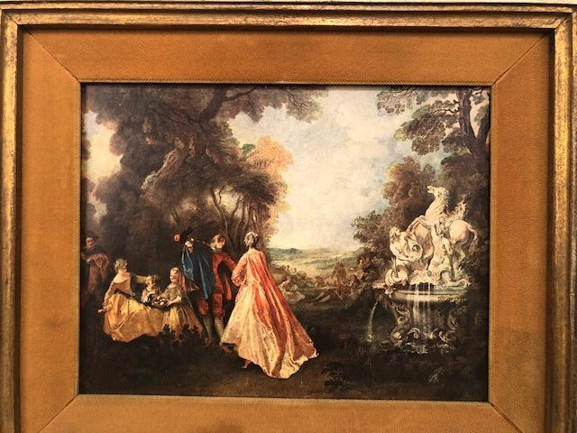 French framed 17th Century Landscape - 3