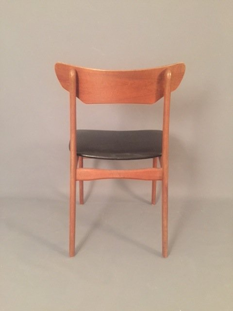 Mid Century Herman miller leather chair - 2