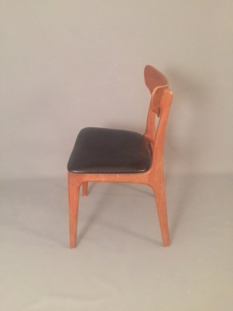 Mid Century Herman miller leather chair - 4