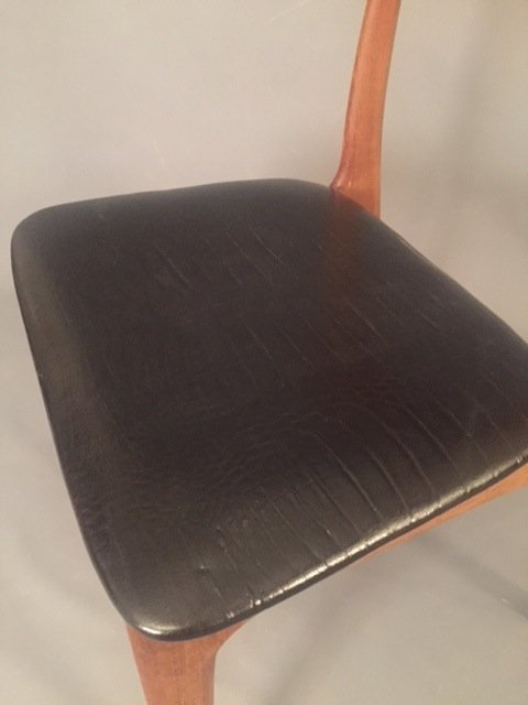 Mid Century Herman miller leather chair - 6
