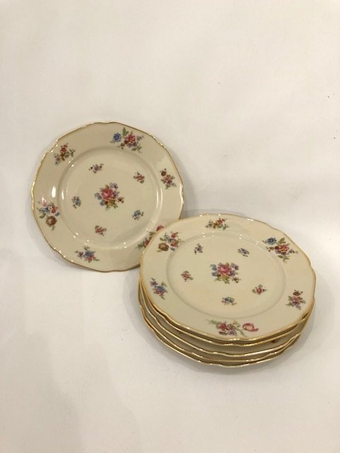 orcelain set of 6 appetite plates BAVARIA