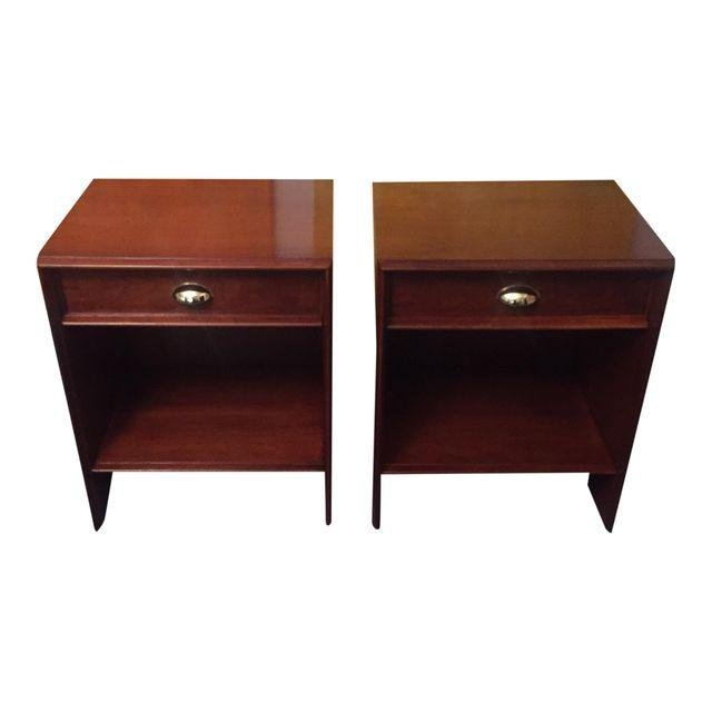 Mid-Century RESTORED Nightstands - A Pair