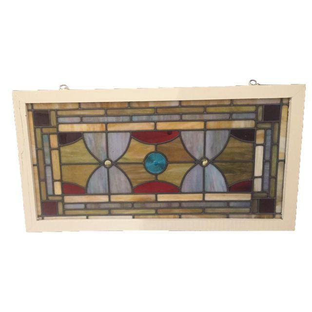 Vintage French Stained Glass Circa 1940's