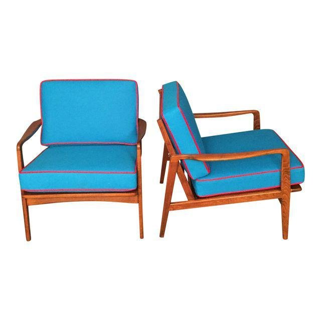 Mid-Century Danish RESTORED arm chairs