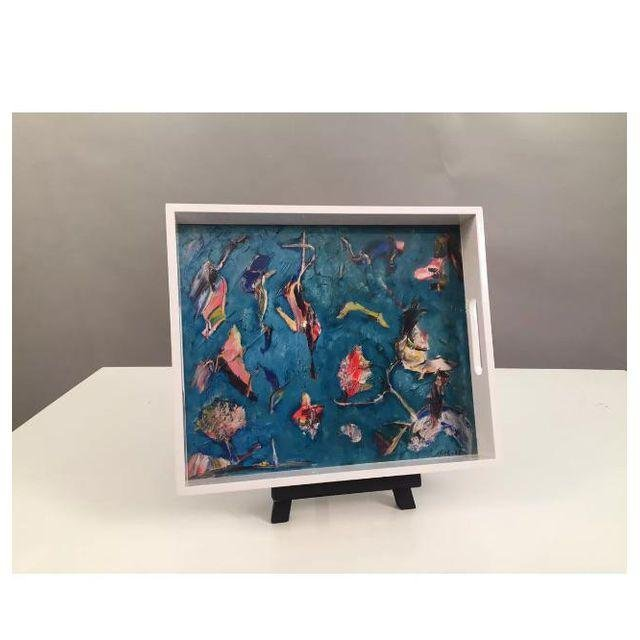 """Lacquer Trays Print by """"Bruce Mishell"""" - 2"""