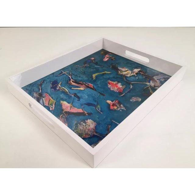 """Lacquer Trays Print by """"Bruce Mishell"""" - 3"""