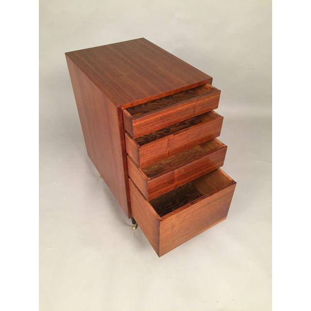 Mid-Century Walnut Filing Cabinet - 3