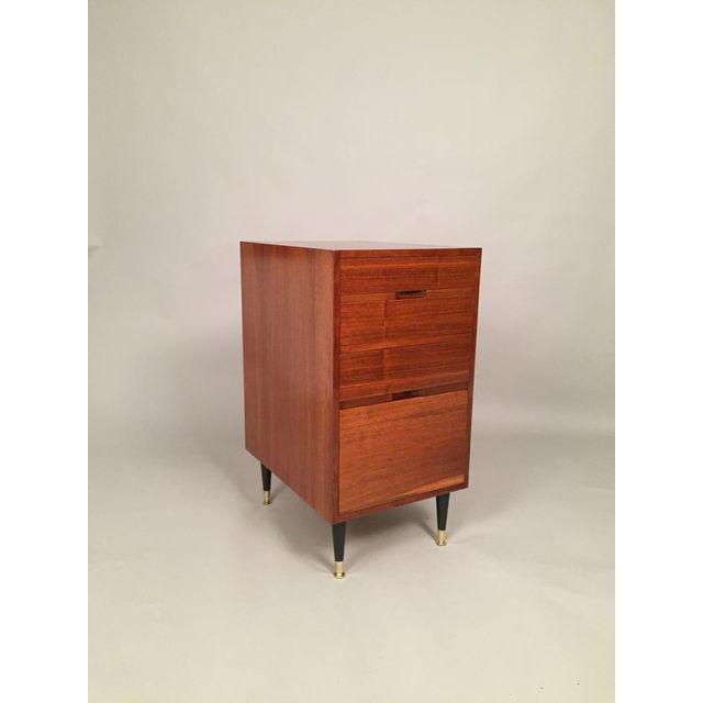 Mid-Century Walnut Filing Cabinet - 4