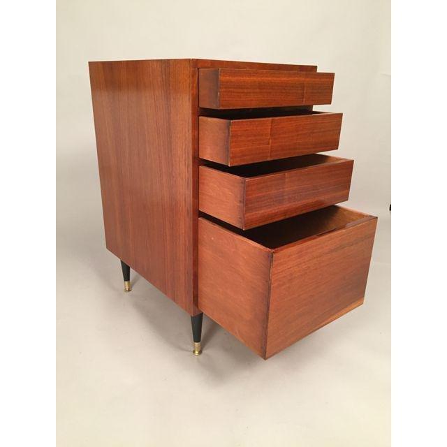 Mid-Century Walnut Filing Cabinet - 5