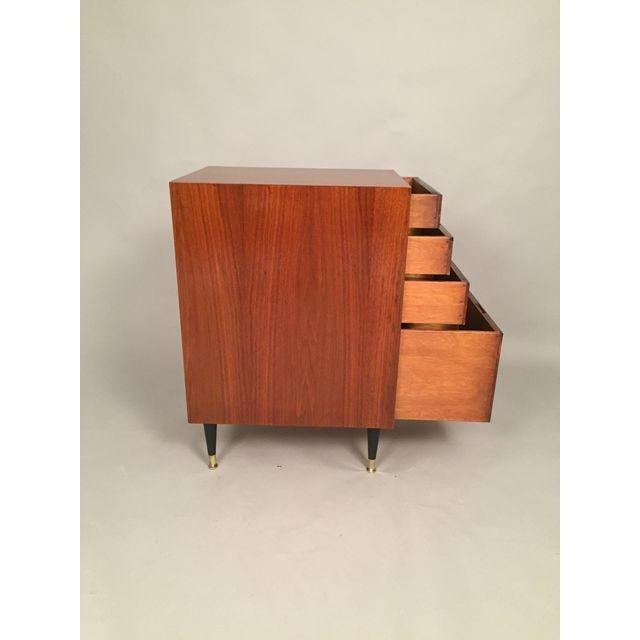 Mid-Century Walnut Filing Cabinet - 7