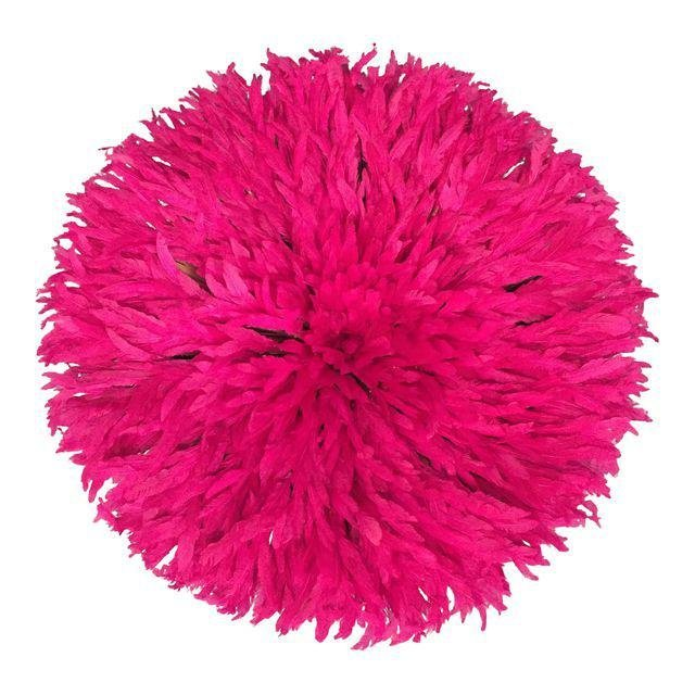 Pink Feather Juju Hat