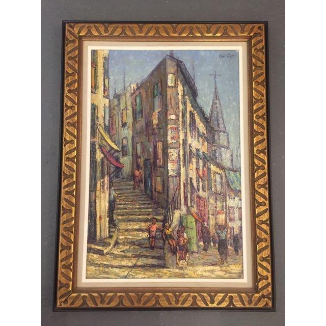 Sibri Joycei Street Scenery Impressionist Oil Painting