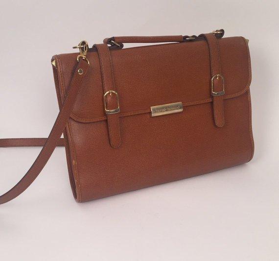 Mid Century Vintage REAL Harve Benard man bag - 7