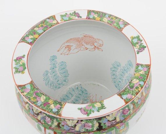 Porcelain MADE IN CHINA vintage pot - 3