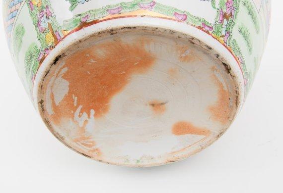 Porcelain MADE IN CHINA vintage pot - 4