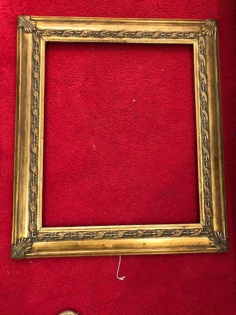 french Antique Gold frame