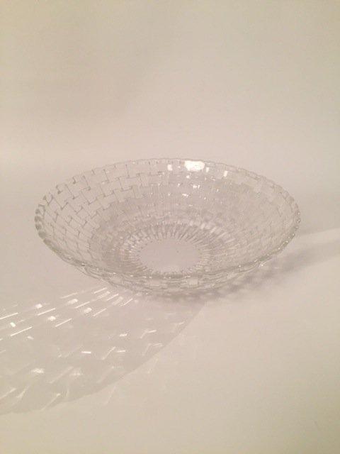 Mid Century Crystal bowl