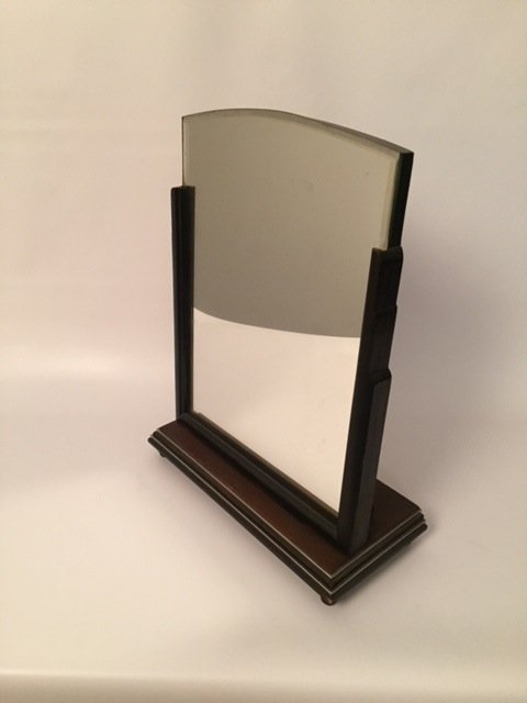 Art Deco Table bevealed Mirror stand