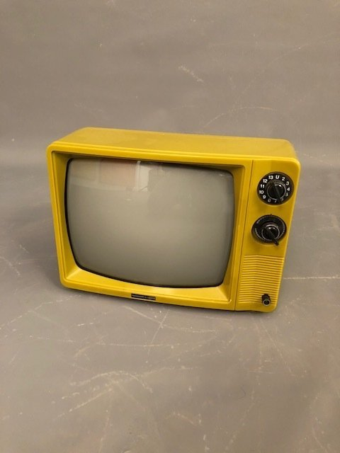 Mid-Century Vintage green TV