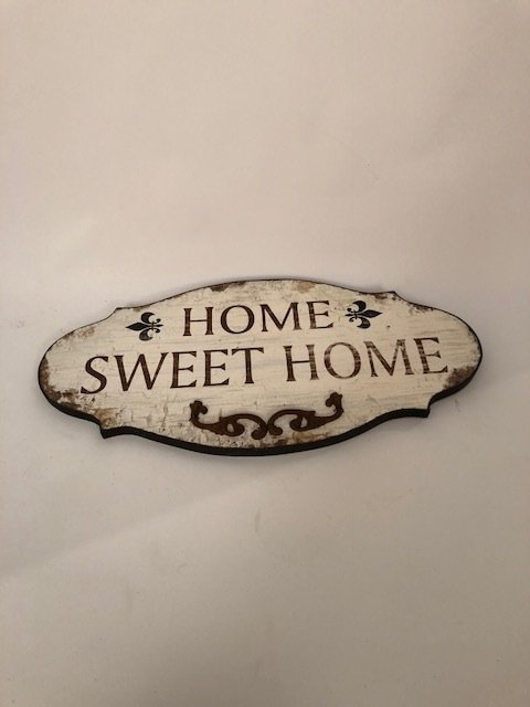 Wall decor Welcome home