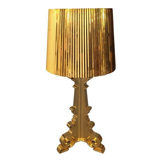 Retro French Gold Bourgie style Lamp