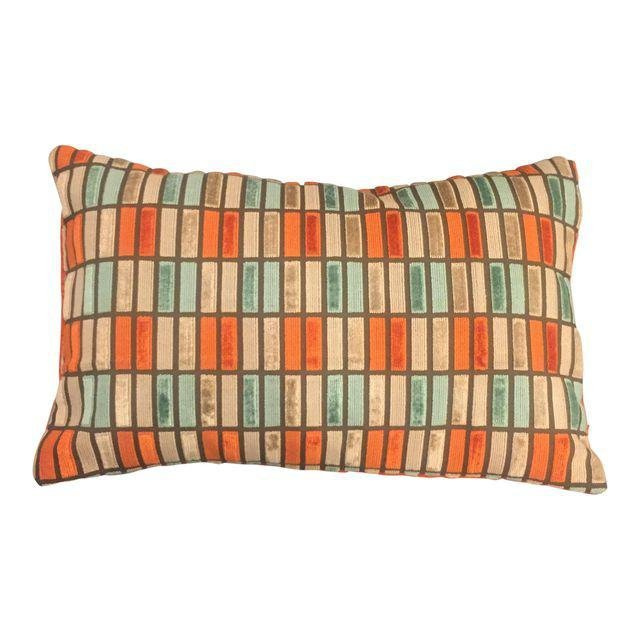 Multi Colored Couture Velvet Pillows - a Pair