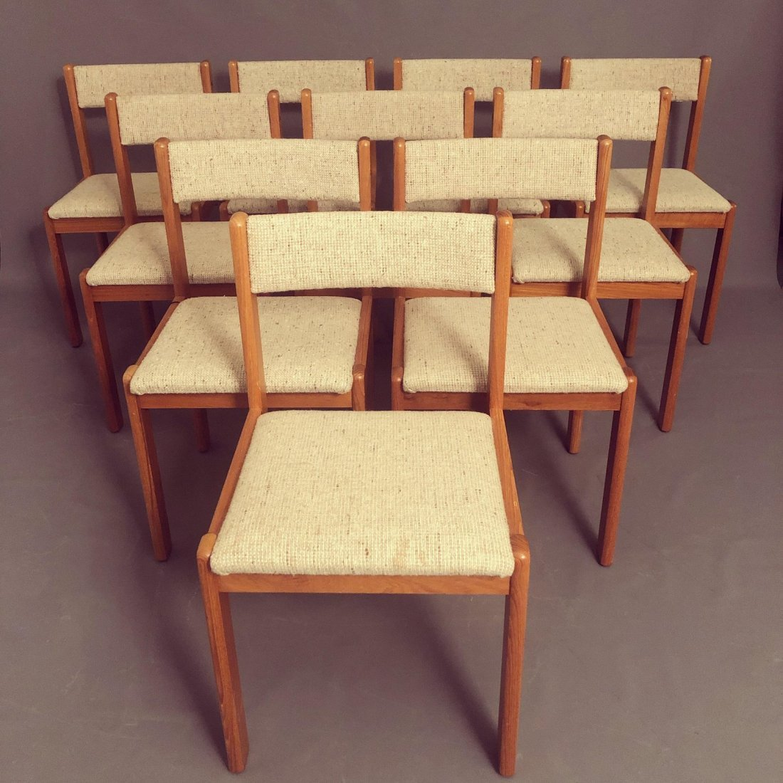 Vintage Mid-Century Teak Danish Dining Chairs- Set of 1 - 2